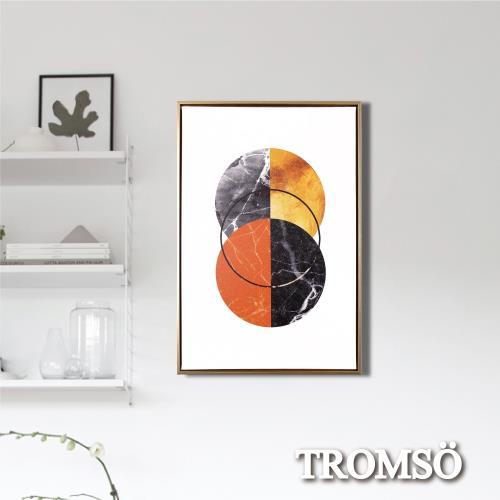 TROMSO北歐時代風尚有框畫-日月晨環WA174/
