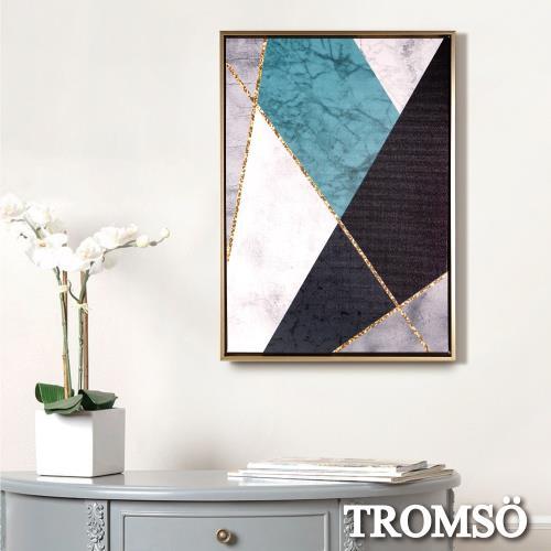 TROMSO北歐時代風尚有框畫-碧藍百和WA173/