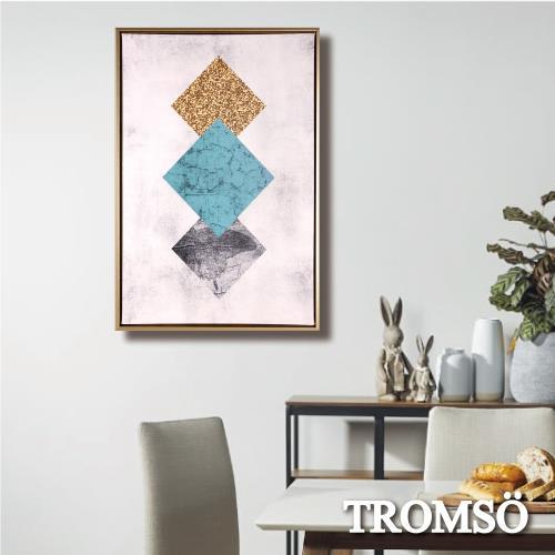 TROMSO北歐時代風尚有框畫-碧藍三菱WA172/