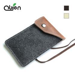 Obien 防潑水高級手機套(適用2.8到4.3吋)