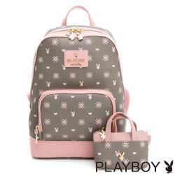 PLAYBOY -  後背包 My Heart系列 - 粉色