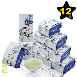 【茶曉得】阿里山里佳香萃烏龍茶12件組(3斤)