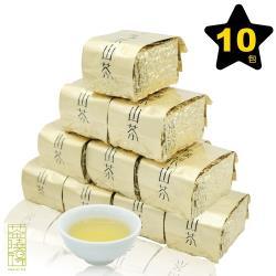 【茶曉得】梨山吊橋頭芽嫩醇水烏龍茶10件組(2.5斤)