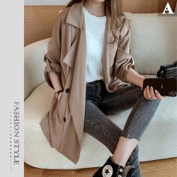 【GF-快時尚】氣質時尚風衣外套-2款任選(S-XL)-特