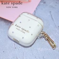 kate Spade AirPods 1/2代 保護殼/套-彩鑽