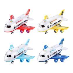 聲光飛機玩具 汽車玩具 警察車 消防車 工程車玩具車收納飛機 兒童玩具