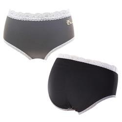 買一送一【王鍺】極緻全竹炭銀纖親柔超彈力內褲