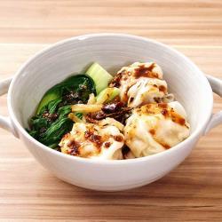 【拓食食品】鮮肉霸王餛飩560±10%(16顆/盒)