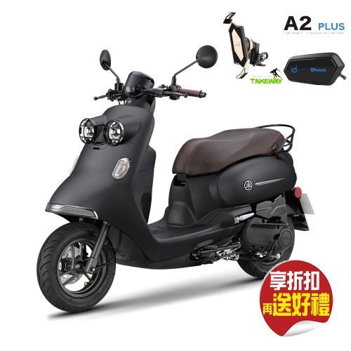 YAMAHA 山葉機車 Vinoora 125 碟煞-M英倫特仕版 -2021新車贈品-PX