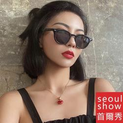 seoul show首爾秀 小框質感V牌太陽眼鏡UV400墨鏡 A105