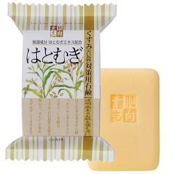 日本 Clover 素肌志向沐浴用肥皂 120g-薏仁