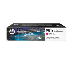HP原廠 L0R14A(981Y) 洋紅色 高容量墨水匣 適用556dn / 556xh / 586dn / 586f / 586z