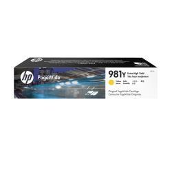 HP原廠 L0R15A(981Y) 黃色 高容量墨水匣 適用556dn / 556xh / 586dn / 586f / 586z