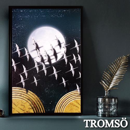 TROMSO北歐時代風尚有框畫-星辰圓月WA182/