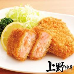 【上野物產】蝦仁排 (75g±10%/5片/包)x8包