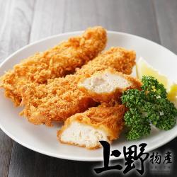 【上野物產】小型 日式酥脆炸豬排 (85g土10%/片) x20片