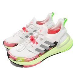 adidas 慢跑鞋 Ultraboost C RDY 運動 女鞋 海外限定 愛迪達 舒適 避震 反光 球鞋 白 黃 FV6995 [ACS 跨運動]
