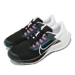 Nike 慢跑鞋 Zoom Pegasus 38 女鞋 氣墊 舒適 避震 路跑 健身 球鞋 黑 白 CZ4178015 [ACS 跨運動]