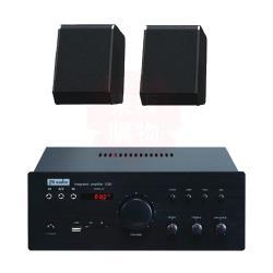商業空間 FH Audio X3BT 擴大機+Pioneer S-13F 環繞喇叭X2支