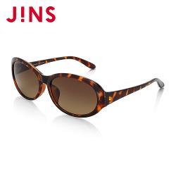 JINS 流線型大框太陽眼鏡(ALRF17S800)木紋棕