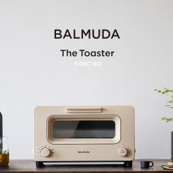 【BALMUDA】The Toaster 蒸氣烤麵包機(奶茶色 K05C-BG)