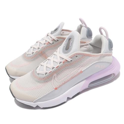Nike休閒鞋AirMax2090運動女鞋氣墊舒適避震簡約球鞋穿搭灰白CJ4066014[ACS跨運動]/
