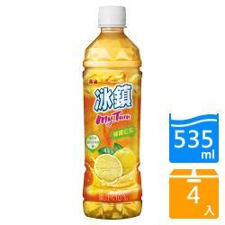 泰山冰鎮紅茶535ml*4入【愛買】