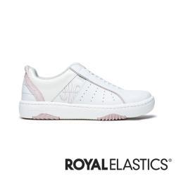 ROYAL ELASTICS ICON2.0X 粉白真皮運動休閒鞋 (女) 96312-001