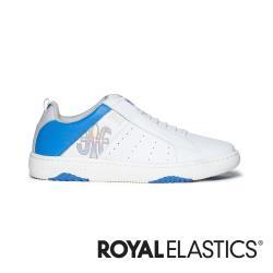 ROYAL ELASTICS ICON2.0 白藍真皮潮流運動休閒鞋 (男) 06502-085