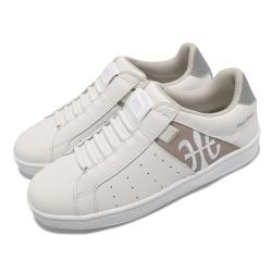 Royal Elastics 休閒鞋 Icon 基本款 女鞋 皮革鞋面 舒適 簡約 質感 穿搭 白 棕 91912078 91912078