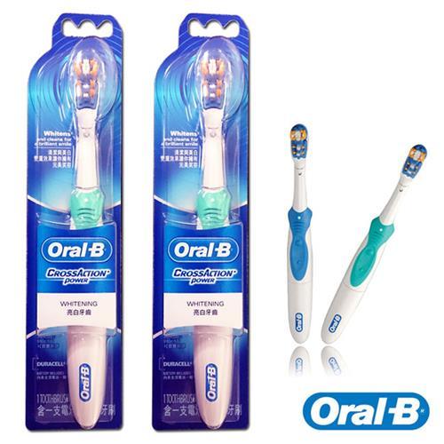 歐樂B多動向雙效電動牙刷B1010(二入)-顏色隨機/