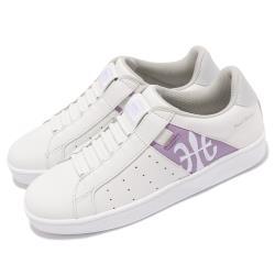 Royal Elastics 休閒鞋 Icon 基本款 女鞋 皮革鞋面 舒適 簡約 質感 穿搭 白 紫 91912068 [ACS 跨運動]