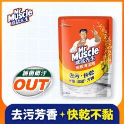 威猛先生 地板清潔劑-清新檸檬(補充包1800ml)
