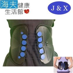 佳新 軀幹裝具(未滅菌) 【海夫健康生活館】佳新醫療 滑輪設計 透氣性佳 滑輪護腰(JXLS-163)