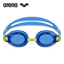 arena 男女童泳鏡泳帽套裝組