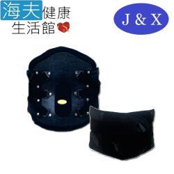 佳新 軀幹裝具(未滅菌)【海夫健康生活館】佳新醫療 兩側加強帶固定 塑纖板護腰(JXLS-169)