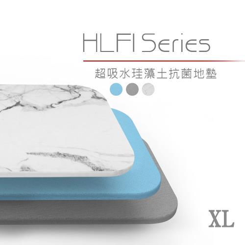 DIKE 第四代無毒珪藻土地墊-XL(中35×45cm) HLF110GY/BU 通過SGS檢驗