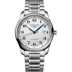LONGINES Master 巨擘系列機械腕錶-銀/40mm L27934786