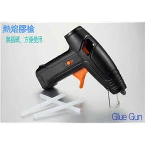 5V電池式膠槍/現貨供應/熱熔膠槍/電池無線無繩膠槍/附膠條/方便使用/便利/工藝/電池/熱膠槍