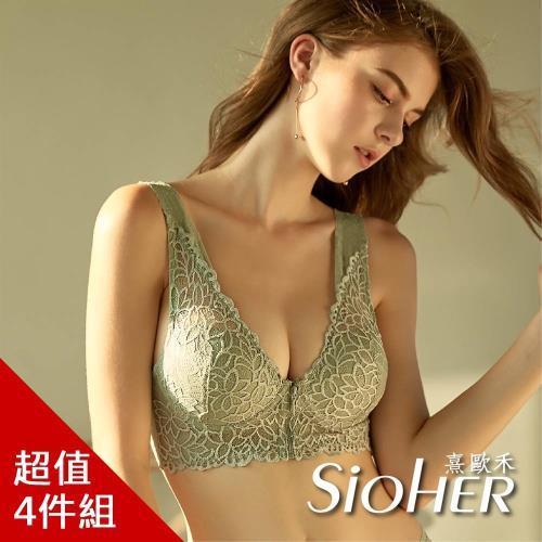 SiOHER韓國絕美雙蕾絲拉鍊美胸衣絕版專案檔