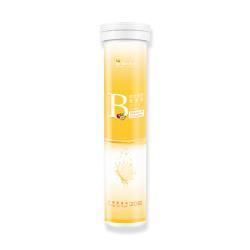 【BeeZin康萃】瑞莎代言綜合維生素B群發泡錠x1瓶(4克/錠,20錠/瓶)