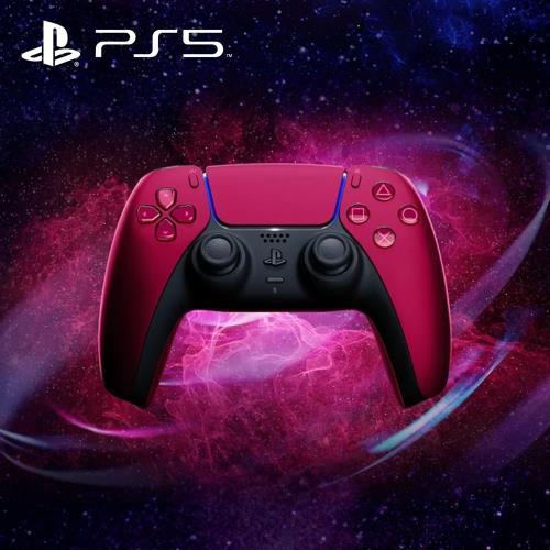SONY PS5原廠 DualSense 無線控制器-星塵紅 CFI-ZCT1G02