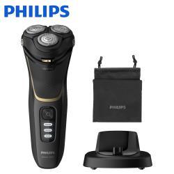 【Philips 飛利浦】三刀頭可水洗電鬍刀 S3333/54