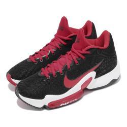 Nike 籃球鞋 Zoom Rize 2 運動 男鞋 海外限定 氣墊 舒適 避震 包覆 支撐 黑 紅 CT1495003 [ACS 跨運動]
