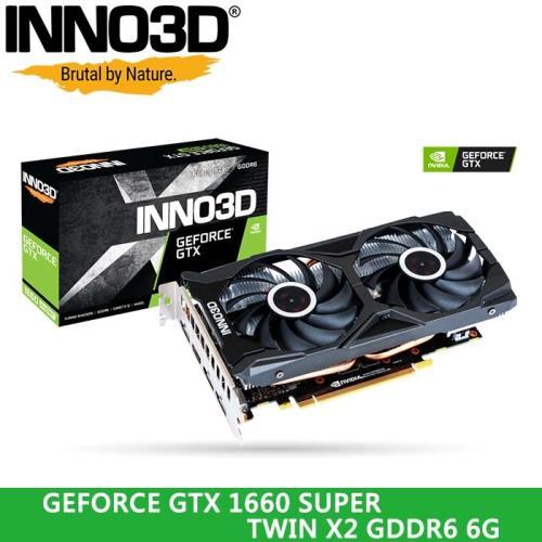  INNO3D映眾 GEFORCE GTX 1660 SUPER TWIN X2 6G GDDR6 顯示卡