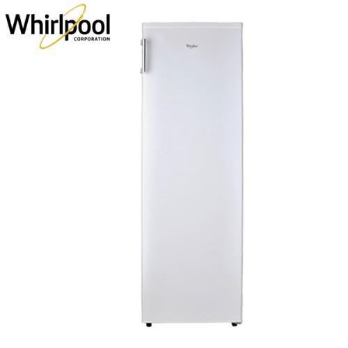 福利品★Whirlpool惠而浦 193L 直立式冰櫃/冷凍櫃(典雅白) WIF1193W -庫(G)