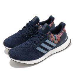 adidas 慢跑鞋 Ultraboost DNA 襪套式 男女鞋 愛迪達 三葉草 緩震 路跑 情侶穿搭 藍 彩 FZ3806 [ACS 跨運動]