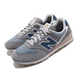 New Balance 休閒鞋 996 B復古 穿搭 女鞋 紐巴倫 N字鞋 基本款 穿搭 灰 藍 WL996WSB [ACS 跨運動]