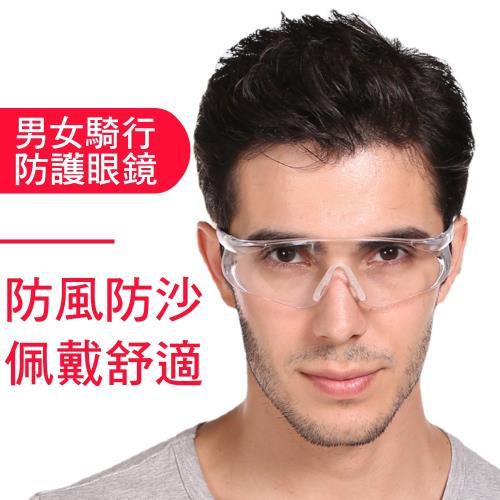 CS22 透明時尚防風沙防衝擊騎行防護眼鏡