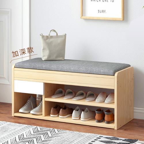 慢慢家居-多功能掀蓋儲物鞋櫃穿鞋椅
